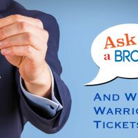 Ask A Broker and be entered to win Golden State Warrior tickets!