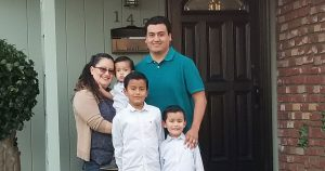 Bermudez family in new home financed by prime home loans in watsonville CA.